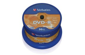 DVD+R VERBATIM CAKEBOX 50PCS